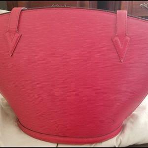 Authentic Louis Vuitton Saint Jacquees Shoulder Ba